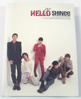 SHINee - Hello (Vol.2 Repackage) CD+Photo BooKlet+Poster+Gift Photo K-POP