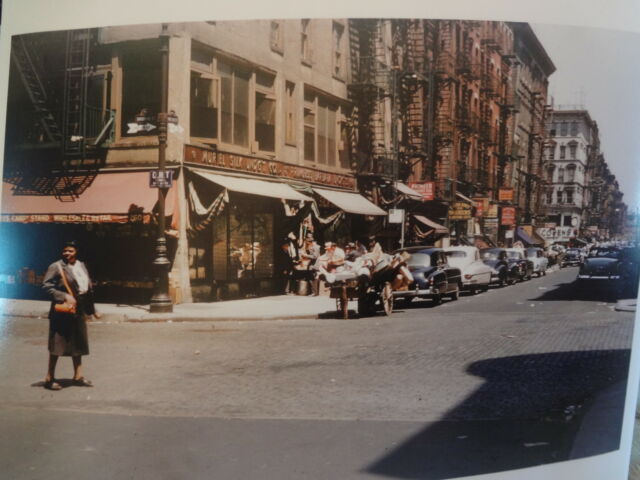 1953 Orchard to Delancey Lower East Side LES Jewish NYC New York City Photo