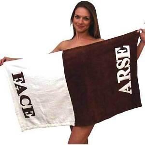 New-Novelty-Arse-Face-Beach-Bath-Towel-Fun-Gift