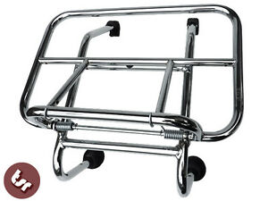 LAMBRETTA-Quality-Chrome-Front-Rack-Luggage-Carrier-Series-1-2-3-GP