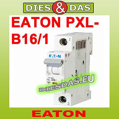 Moeller Eaton Leitungsschutzschalter PXL-B16/1 Sicherungsautomat B16A B 16 A