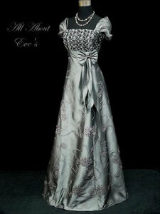 Edwardian-Period-THEMED-18-20-MASQUERADE-Dress-REGENCY-JANE-AUSTEN-TITANIC
