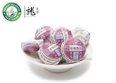 Rose * Chang Yun Premium Mini Tuo Cha Puer Tea Ripe