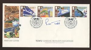 1988 Transport TGWU SW1 OFFICIAL SIGNED Todd