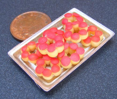 Helado Anillo Tortas Casa De Muñecas En Miniatura De Panaderia Cocina