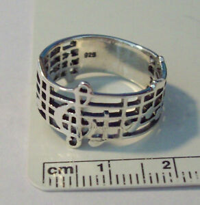 size-6-5-Sterling-Silver-Treble-Clef-Music-Notes-Staff-10mm-Wide-Band-Ring