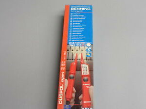 benning duspol expert continuity voltage tester ip 64 ebay. Black Bedroom Furniture Sets. Home Design Ideas