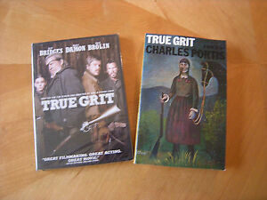 TRUE-GRIT-DVD-2010-WIDESCREEN-amp-SOFTCOVER-BOOK-NEW