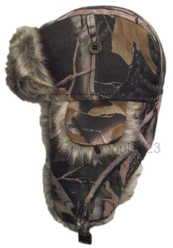 W88 Para Hombre transpirable Ruso bosques Camuflaje ducha prueba Cazador de esquí Sombrero