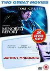 Minority Report/Johnny Mnemonic (DVD, 2007, 2-Disc Set)