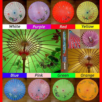 Exquisite Asian Chinese Japanese Parasol Umbrellas !
