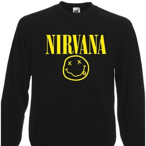 NIRVANA-SMILEY-FACE-SWEATER-SWEATSHIRT-ROCK-KURT-COBAIN-S-XXL