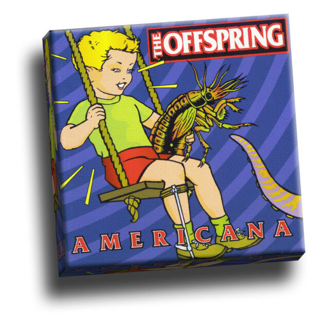 Offspring - Americana Giclee Canvas Album Cover Picture Art