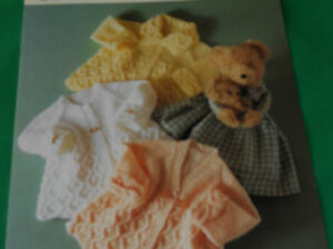 Babies-matinee-coat-size-14-18-knitting-pattern