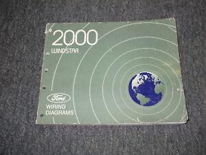 2000 ford windstar van wiring electrical shop manual ebay. Black Bedroom Furniture Sets. Home Design Ideas