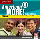 American More! Six-level Edition Level 5 Class Audio Cd by Christian Holzmann, Jeff Stranks, Gunter Gerngross, Herbert Puchta, Peter Lewis-Jones (CD-Audio, 2011)