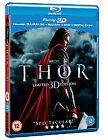 Thor (3D Blu-ray, 2011, 3-Disc Set)