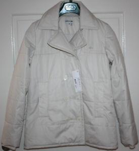 NWT-Women-039-s-White-LACOSTE-Jacket-Coat-Size-EU-38-US-6