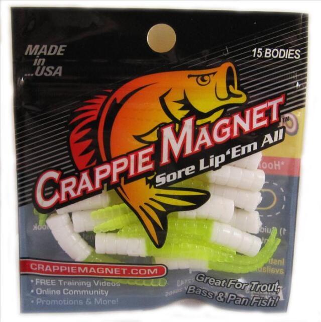 NEW    CRAPPIE MAGNET - 15 pc PK