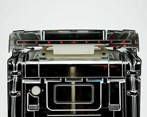 Dachspoiler-Edelstahlleiste-LED-Licht-fur-Tamiya-Scania-HIGHLINE
