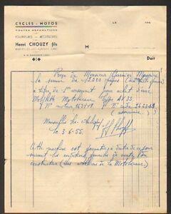 MARSEILLES-les-AUBIGNY-18-GARAGE-MOTO-amp-CYCLES-034-Henri-CHOUZY-034-en-1955