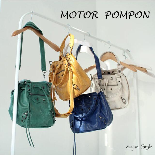 Hollywood Celebrity Style Motorcycle Handbag Women Shoulder Tote Handbag