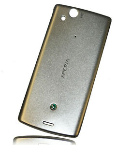 NEW-SONY-ERICSSON-XPERIA-ARC-S-T18i-LT15i-BATTERY-BACK-COVER-DOOR-CASE-SILVER