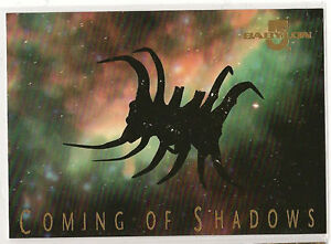 Babylon-5-Premiere-Trading-Cards-Coming-of-Shadows-Chase-Card-9-of-9
