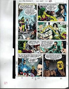 1990-Avengers-327-page-27-Marvel-color-guide-comic-art-Captain-America-She-Hulk