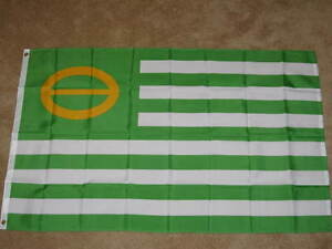Ecology-Flag-3x5-feet-Earth-Day-Green-Planet-peace-sign