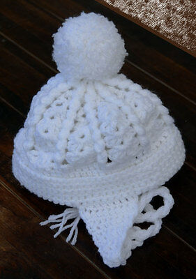 Baby Bobble Hat Crochet Pattern - Premature to 6 months. Boys can look great 2