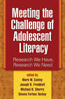 Meeting the Challenge of Adolescent Literacy: Research We Have, Research We Need by Guilford Publications (Paperback, 2008)