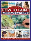 Painting Box: How to Paint Landscapes & Figures: Sea, Mountains, Sky, Portraits, Models : a Box Set of Two Practical Books by Sarah Hoggett, Abigail Edgar, Vincent Milne (Hardback, 2012)