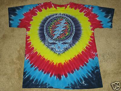 Grateful Dead Raindrops S, M, L, XL, 2XL Tie Dye T-Shirt