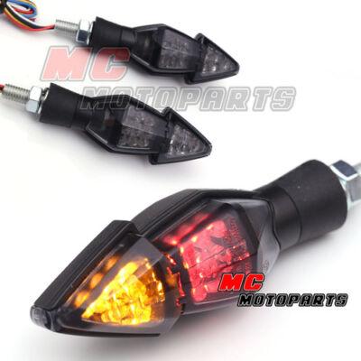 Grizzly LED Turn Signals Light indicators Stop Brake Light Honda Motorcycles