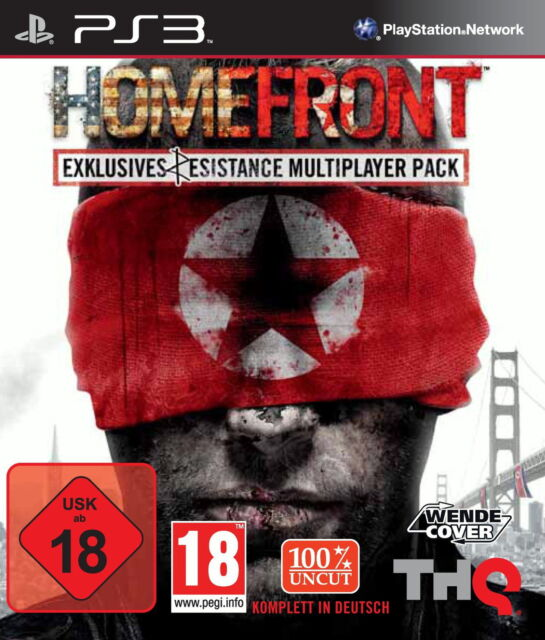 Homefront -- Resist Edition (Sony PlayStation 3, 2011)