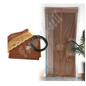 Magic-Curtain-Mesh-Net-Screen-Door-Magnetic-Anti-Mosquito-Bug-Great-For-Summer