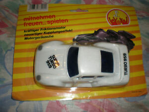 80'S VINTAGE FRICTION POWERED TURBO PORSCHE 959 MOC
