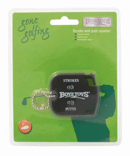 Boyztoys Gone Golfing Stroke and Putt Counter with Attachment Chain