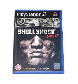 ShellShock: Nam '67 Sony Playstation 2 PS2 18+ Action Shooter Game - MINT ! ! !