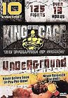 King of the Cage - Underground (DVD, 2005, 5-Disc Set)