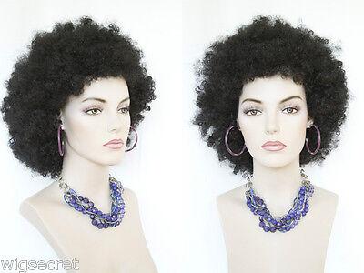 Jumbo Afro Medium Blonde Brunette Red Curly Fun Color Costume Wigs