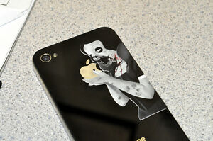 Mini-Zombie-Princess-Decal-for-iPhone-4-4S-3G-3GS-vinyl-sticker