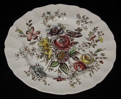 "Johnson Brothers SHERATON Bread Plate, 6 1/4"" Across"