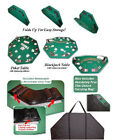 Trademark Poker 500 10g Casino Dice Composite Poker Chip Set with Aluminum Case