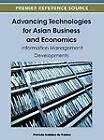 Advancing Technologies for Asian Business and Economics: Information Management Developments by Idea Group,U.S. (Hardback, 2012)