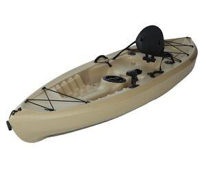 Lifetime-10-foot-Plastic-Tamarack-120-Sport-Fishing-Kayak-Canoe-model-90237