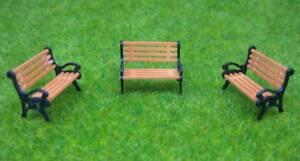 YZ150-10pcs-Model-Train-1-150-bench-chair-settee-N-Z