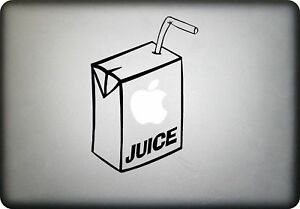 APPLE-JUICE-MacBook-Vinyl-Decal-Sticker-fits-all-sizes