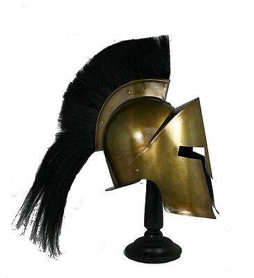 Leonidas Helm Königshelm Sparta Rüstung Larp Ritterhelm Troja Mittelalter R201
